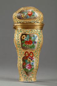 Early 19th Century German Porcelain Case.