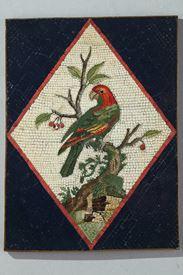 Grande plaque en micro-mosaïque. Attribué G.Raffaelli. Circa 1790