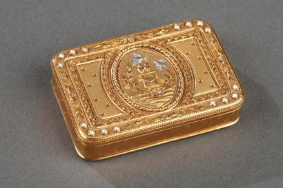 Early 19th century Gold box.