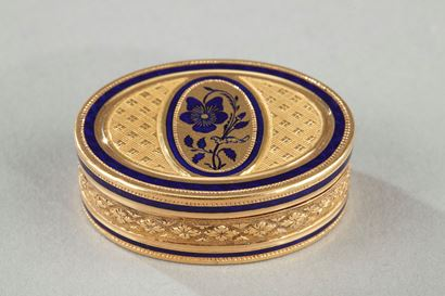 Early 19th Century Gold Vinaigrette.