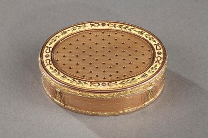 Louis XVI gold box.