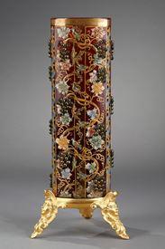 Moser Karlsbad bohemian vase. Circa 1880