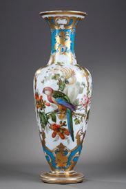 Mid-19th century baluster-vase. Jean-François Robert.