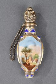 Early 19th Century Crystal Perfume Bottle.
