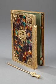 Charles X dance card.<br>Circa 1815-1830.