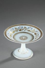 Charles X Opaline Cup Decorated by Jean-Baptiste Desvignes.