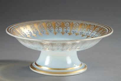 Charles X Opaline Cup. Neogothic style.