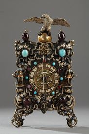19th century Viennese clock.