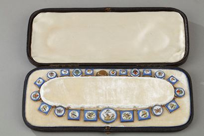 MICROMOSAIC PARURE . EARLY 19TH CENTURY
