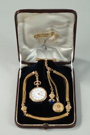 Exceptional Leroy & Fils Chatelaine – Palais Royal.