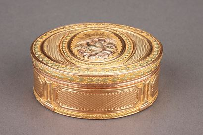 GOLD SNUFFBOX. <br/>