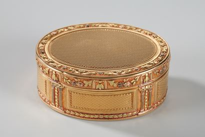 Louis XVI Gold snuff box;