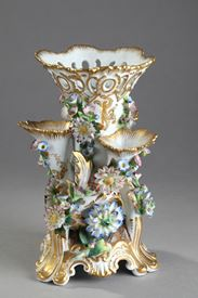 Paris porcelain vase, Jacob Petit manufacture.