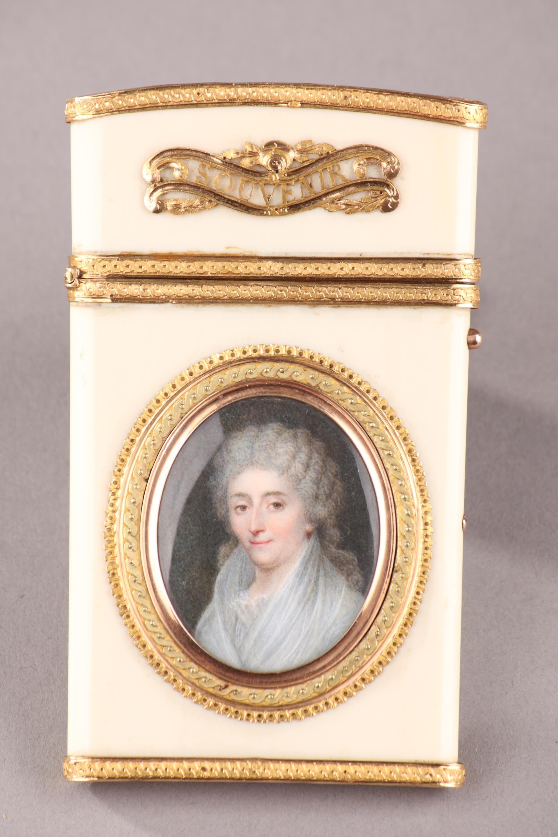 GOLD AND IVORY CASE. <br/>