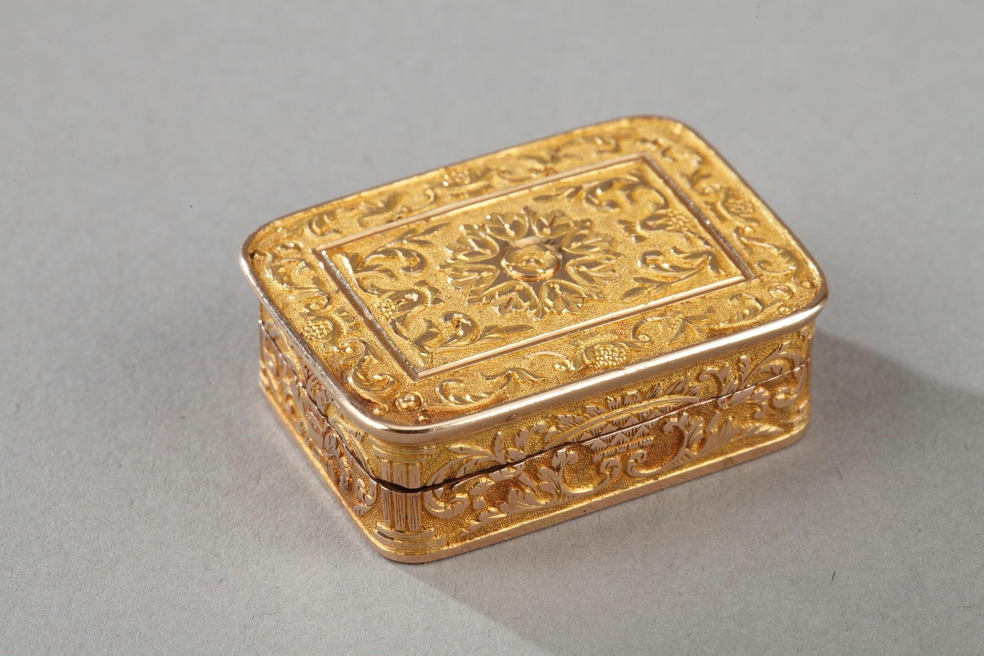GOLD VINAIGRETTE Early 19TH CENTURY WORK