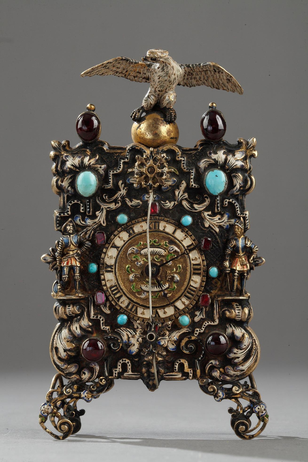 19th century Viennese clock.