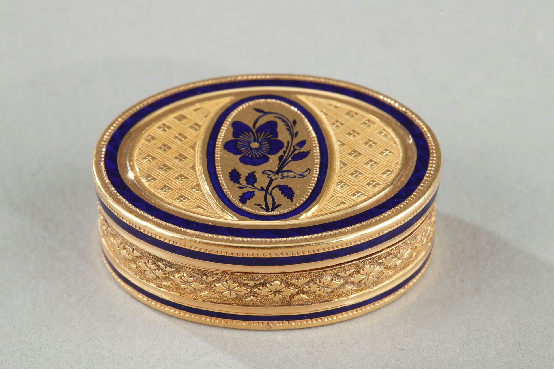 Early 19th Century Gold Vinaigrette.