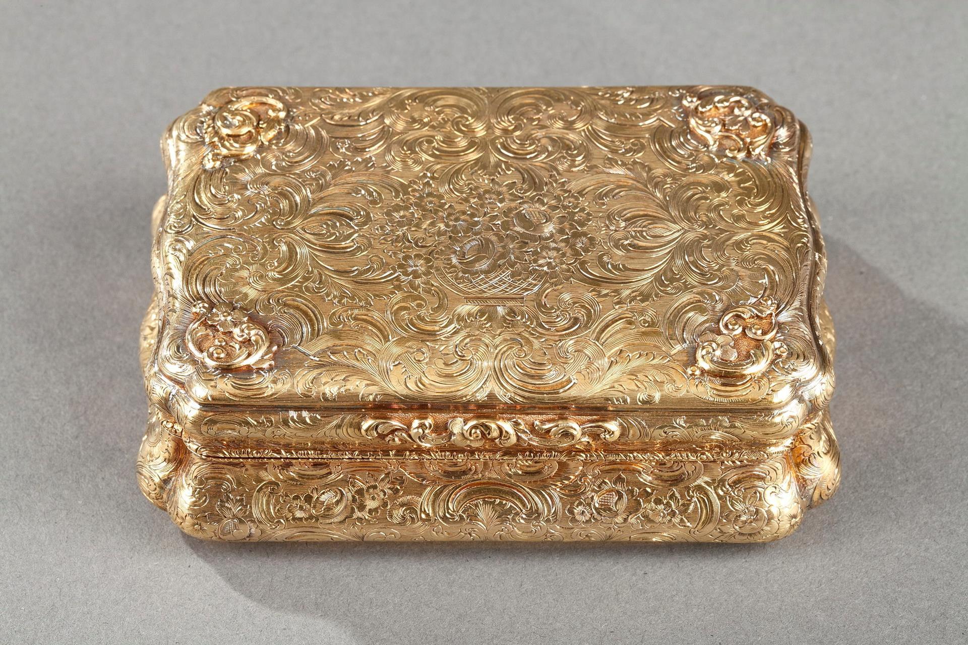 Mid-19th century Hanau Gold Box.