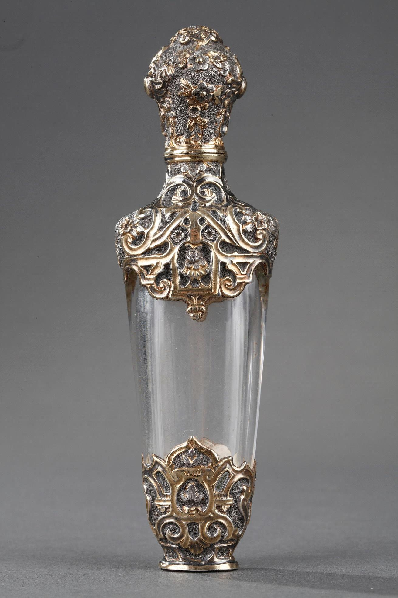Silver and Crystal Flask Restauration Period.